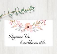 Papiernictvo - Pozvanie ku stolu P68 - 11401588_