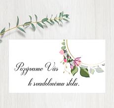 Papiernictvo - Pozvanie ku stolu P70 - 11401596_