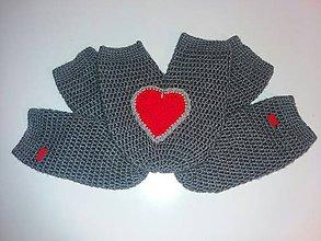 Rukavice - Zamilované rukavičky - 11402128_