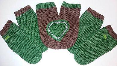 Rukavice - Zamilované rukavičky - 11402152_