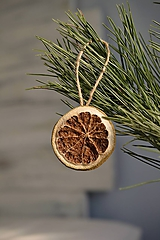 - Ozdoby na stromček Zelený pomaranč - 11404108_