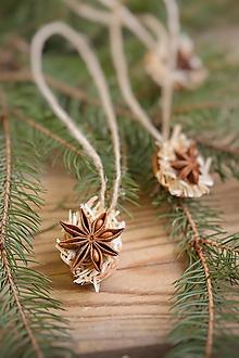 Dekorácie - Vianočné ozdoby Oriešky s korením - 11404141_