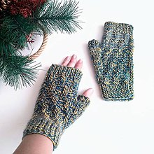 Rukavice - Bezprstové rukavice - 11405054_