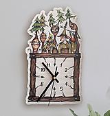 Hodiny - Stromáci - nástenné hodiny. - 11403251_