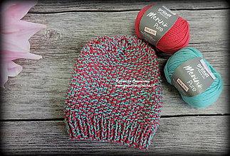 Detské čiapky - Merino čiapka - 11403322_