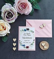 Papiernictvo - Svadobné oznámenie LÁSKA B - 11405612_