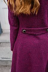 Kabáty - Vlnený kabát princess strihu SEVERANKA-buklé - 11405166_