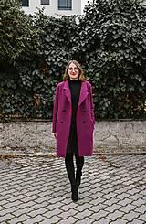 Kabáty - Vlnený street kabát SEVERANKA-buklé - 11405197_