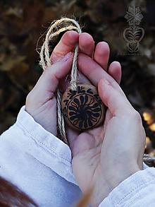 Náhrdelníky - Ľudový čarokruh - 11404502_