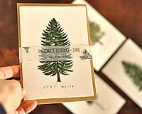 Papiernictvo - Pohľadnice - ihličnatý set 3ks - 11402513_