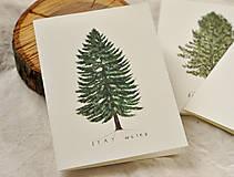 Papiernictvo - Pohľadnice - ihličnatý set 3ks - 11402514_