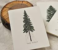 Papiernictvo - Pohľadnice - ihličnatý set 3ks - 11402515_