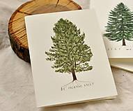 Papiernictvo - Pohľadnice - ihličnatý set 3ks - 11402516_