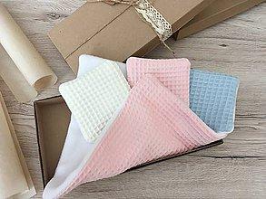 Úžitkový textil - Odličovacie vankúšiky - pampúšiky farba BIELA - 11405053_