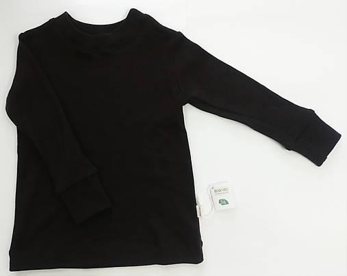 Detské merino tričko s dlhým rukávom