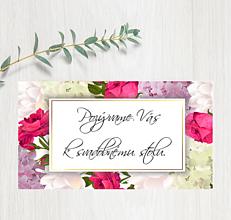 Papiernictvo - Pozvanie ku stolu P76 - 11402936_