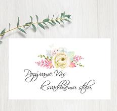 Papiernictvo - Pozvanie ku stolu P81 - 11402989_