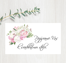 Papiernictvo - Pozvanie ku stolu P82 - 11402992_