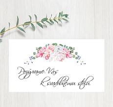 Papiernictvo - Pozvanie ku stolu P85 - 11403004_
