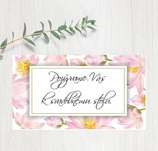 Papiernictvo - Pozvanie ku stolu P86 - 11403015_