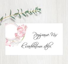 Papiernictvo - Pozvanie ku stolu P88 - 11403019_