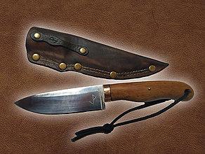 Nože - Ručne vyrobený nôž - 11403250_