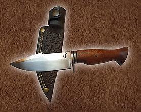 Nože - Ručne vyrobený nôž - 11403281_