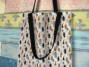 Nákupné tašky - Nákupní taška Zimní lesy - 11402187_