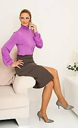 Sukne - Klasická puzdrová sukňa - 11403660_