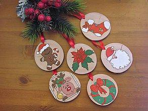 Dekorácie - Vianočné ozdoby z dreva XVI - 11405024_