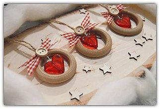 Dekorácie - Srdce v kruhu lásky - 11407795_
