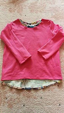 Detské oblečenie - Tepláková mikina 116 - 11406893_