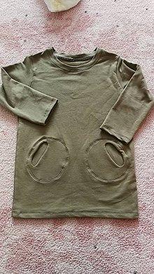 Detské oblečenie - Teplakove saty 98/104 - 11406905_
