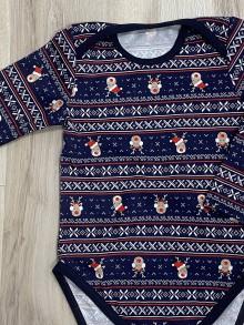 Detské oblečenie - Vianočné body - 11407287_