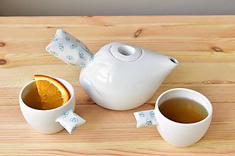 Nádoby - Peřinkový čaj pro dva - 11408474_
