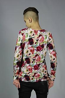 Tričká - Tričko kvety - 11408271_