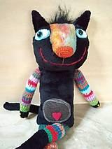 Bábiky - Čierna cica - 11406950_