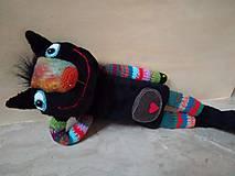 Bábiky - Čierna cica - 11406951_