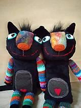 Bábiky - Čierna cica - 11406953_