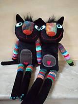 Bábiky - Čierna cica - 11406954_