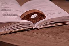 Papiernictvo - bookmarker pomôcka na čítanie (L/XL 26 mm) - 11407052_