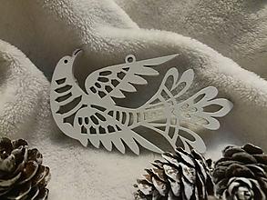Dekorácie - Ozdoba Vtáčik - 11408452_