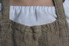 Úžitkový textil - Zástera z režného ľanu - 11409204_