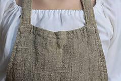 Úžitkový textil - Zástera z režného ľanu - 11409207_