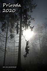 Papiernictvo - Nástenný poznámkový kalendár 2020 Príroda - 11410635_