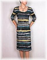 Šaty - Šaty vz.501 i krátký rukáv - 11408933_