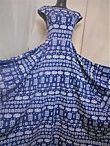"""Kabelky - Listová kabelka """" Folk Blue & white """" - 11409595_"""