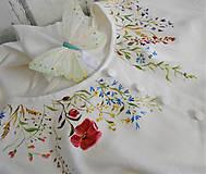 """Šaty - Maľované """" Lúčne kvietky""""  šaty a pánska košeľa... - 11409671_"""