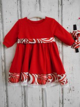 Sukne - FLORAL FOLK - červená kruhová sukňa s vačkami - 11409729_