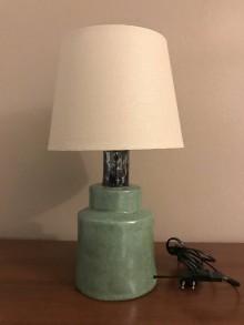 Svietidlá a sviečky - Lampa zeleno-modrá - 11410342_